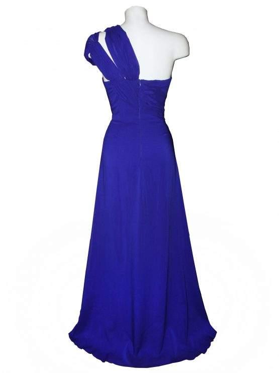 Платье с шифоновой драпировкой
